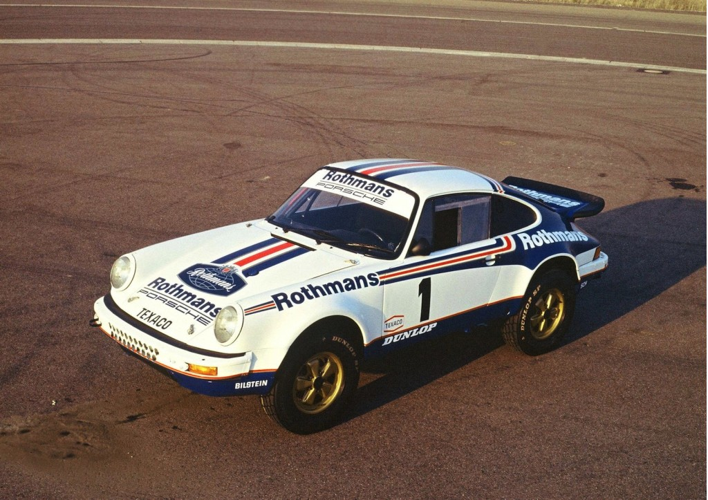 The 1984 Paris-Dakar-winning Porsche 911