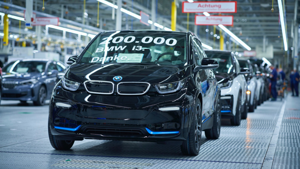 The 200,000th BMW i3