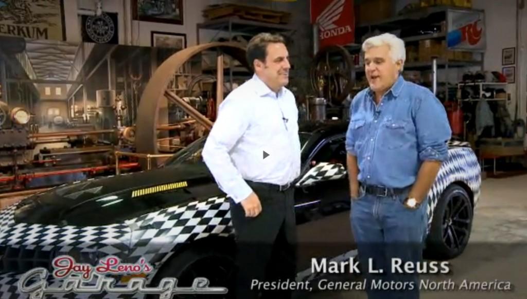 The 2012 Chevrolet Camaro ZL1 visits Jay Leno's Garage