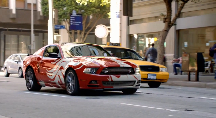 The  Ford Mustang As You Like It Video - Vinyl custom