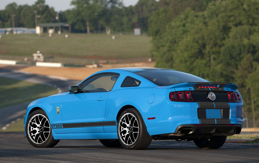 2019 Mustang Cobra >> Shelby American Announces Specs For 2013 GT350