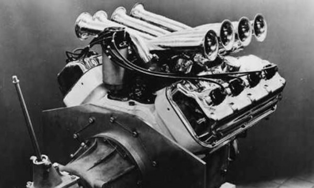 The A311 Hemi engine in its final form | IMS Museum photo