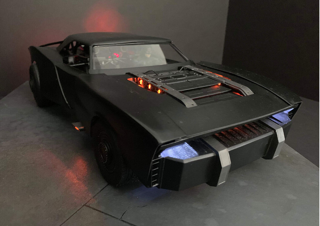 """The Batman"" Batmobile - Photo credit: TheBatRobert/Twitter"