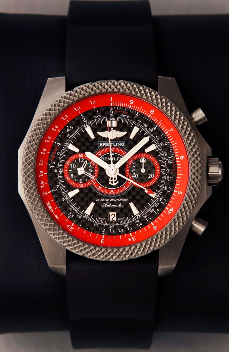 The Breitling Bentley Ice Speed Record commemorative watch