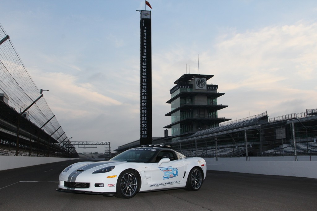 The Chevy Corvette ZR1 Indianapoils 500 Pace Car