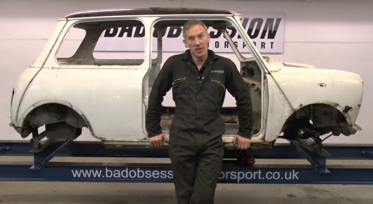 Project Binky 4WD Austin Mini Build - The Body Is Nearly Complete: Video