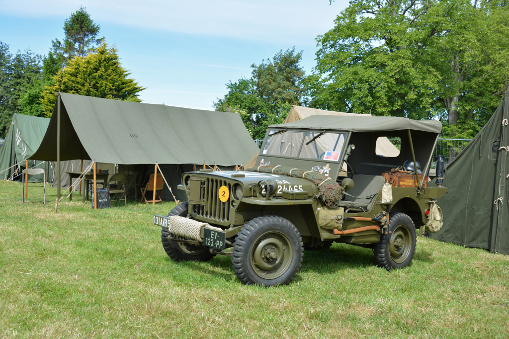 The D-Day Jeeps of Normandy, France