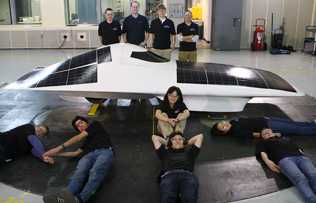 The *Eleanor* solar racecar from MIT