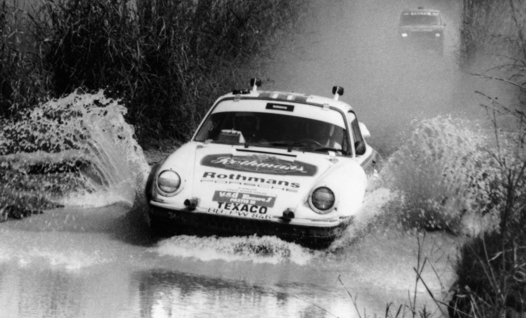 The first all-wheel drive Porsche 911 and winner of the 1984 Paris-Dakar Rally