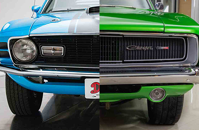 Classic Muscle Cars >> Charger Mustang Are America S Most Searched Muscle Cars