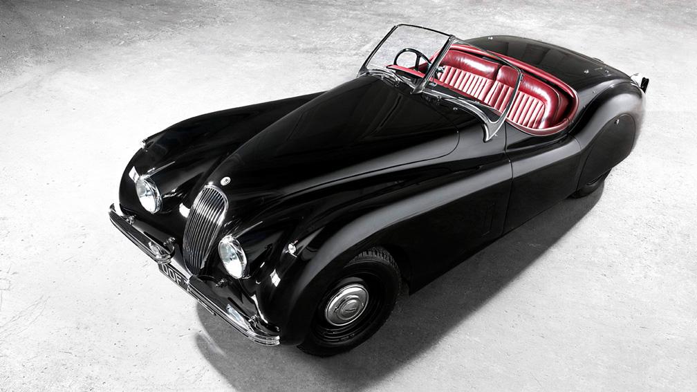 The Jaguar XK120