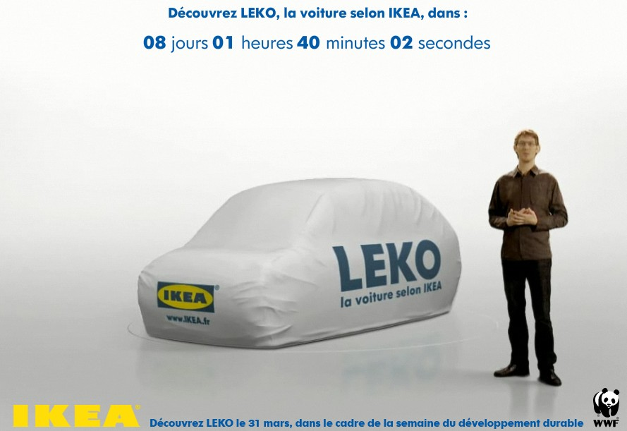 The LEKO promo from IKEA