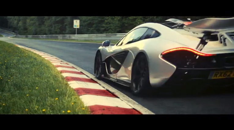 The McLaren P1 takes on the Nürburgring-Nordschleife