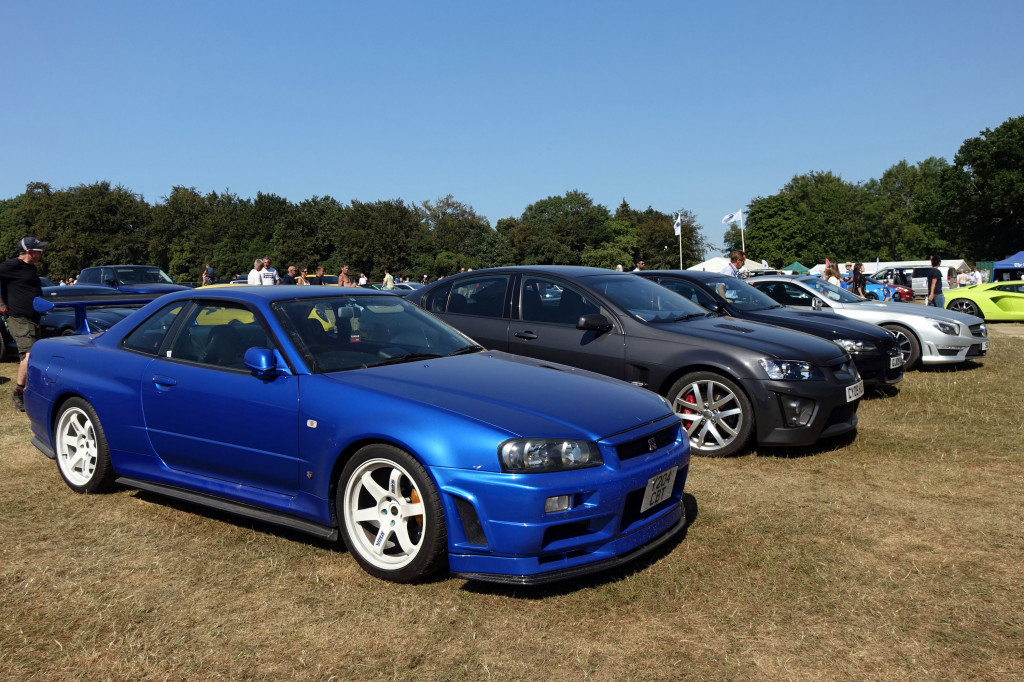2018 Goodwood Festival of Speed: when the parking lot is a show of its own