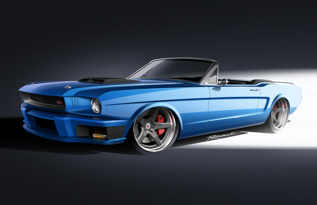 The Ringbrothers 1965 Ballistic Mustang