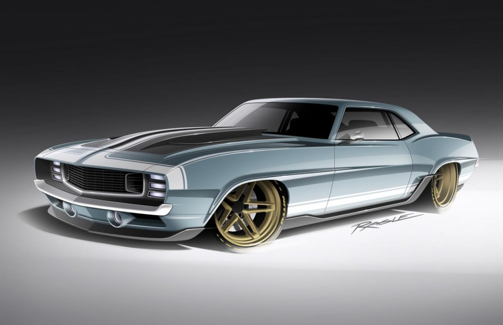 The Ringbrothers 1969 G-Code Camaro