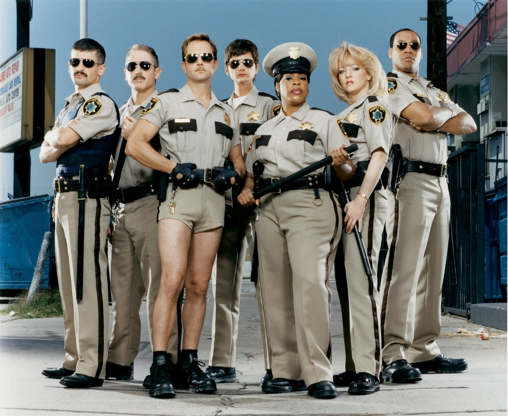 The talented cast of Reno 911
