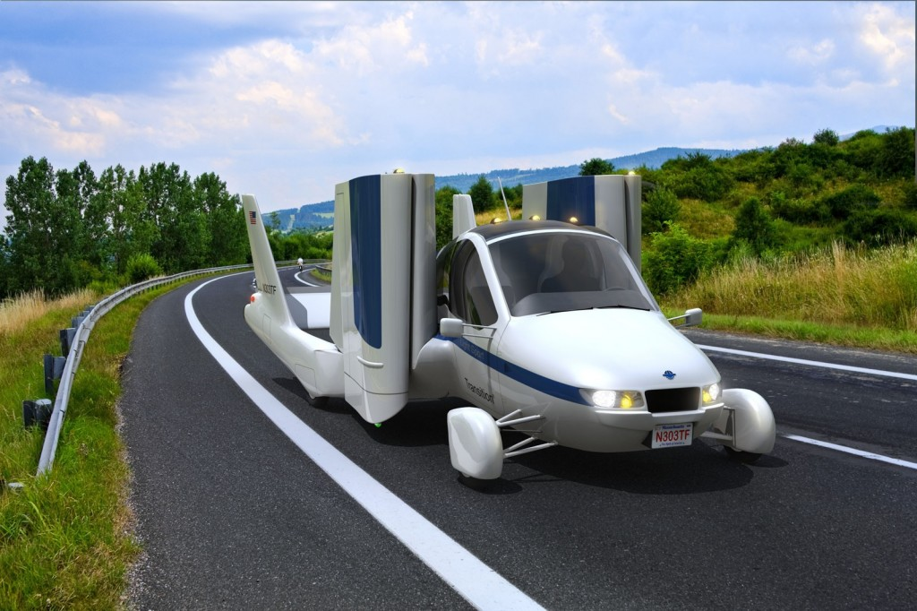 The Terrafugia Transition roadable aircraft