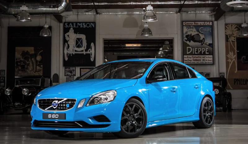 Volvo 39 s s60 polestar concept visits jay leno 39 s garage for Garage volvo rouen