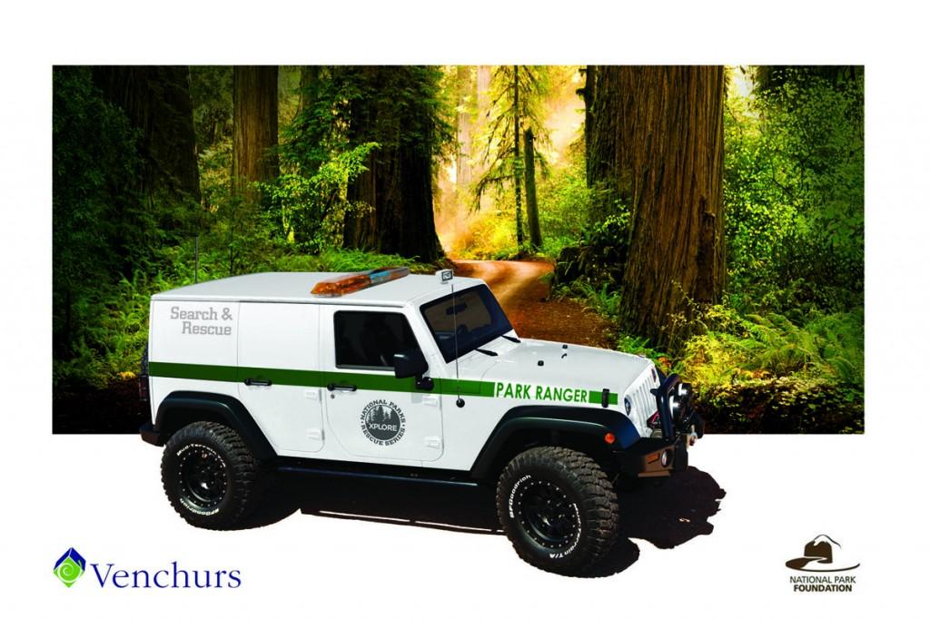 The Xplore Rescue Series Jeep Wrangler. Image: Xplore