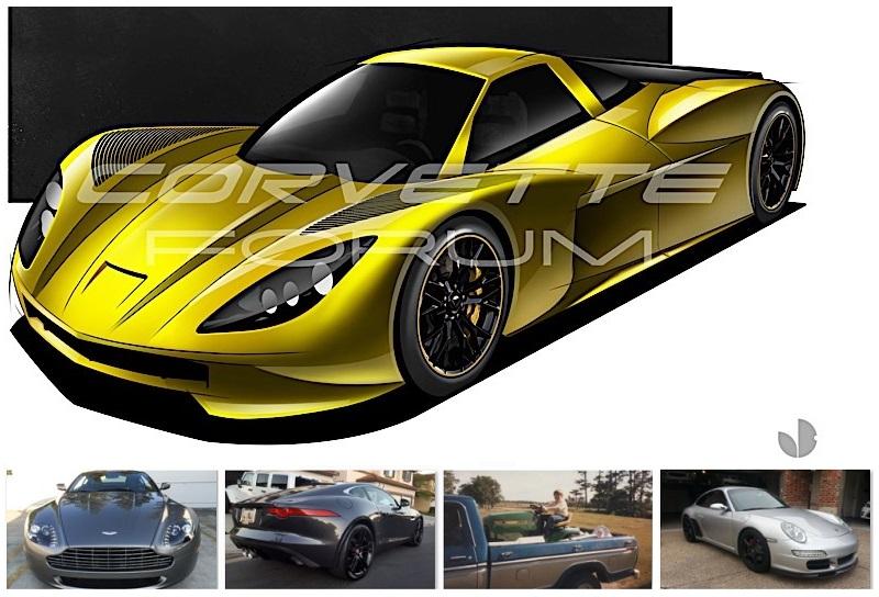 Mid-engine Corvette, defecting from Jaguar, double trouble ...
