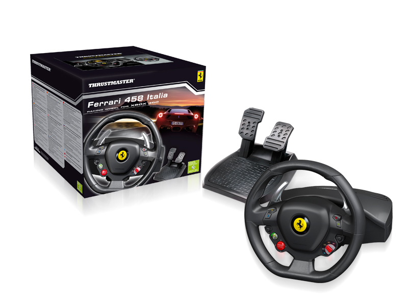 Thrustmaster Builds A Ferrari 458 Steering Wheel For The Xbox 360