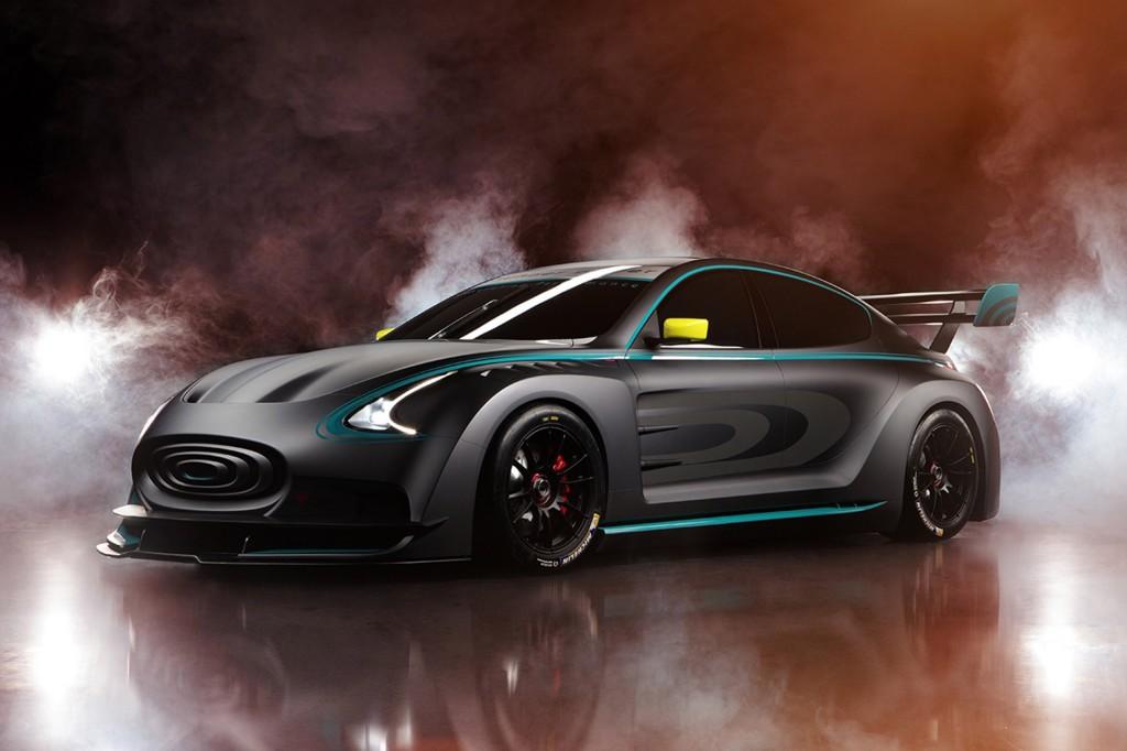 Thunder Power Racer concept, 2015 Frankfurt Auto Show