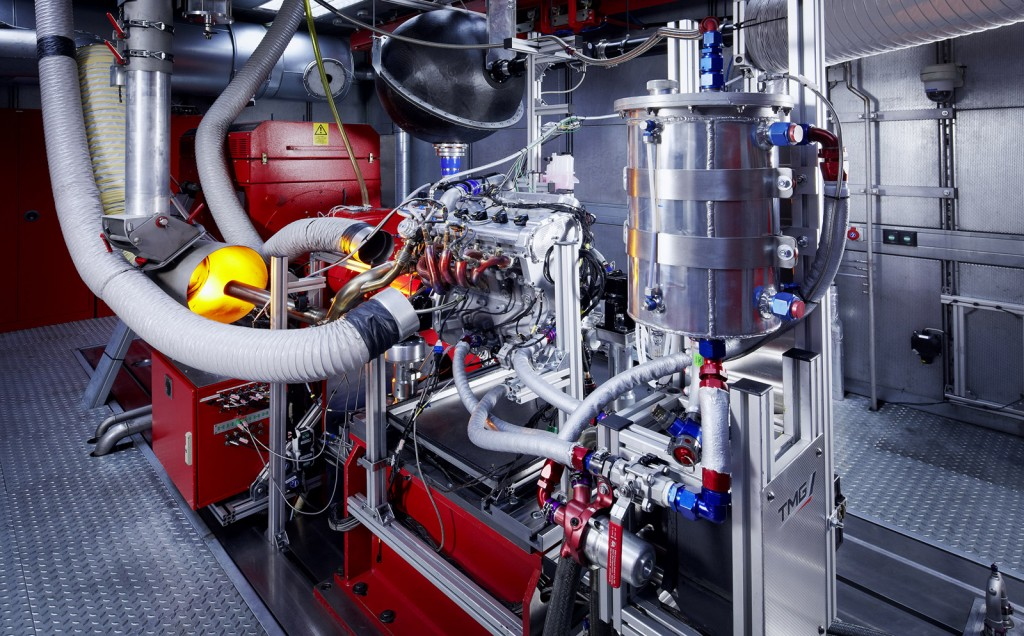 TMG 'Global Race Engine' on the dyno