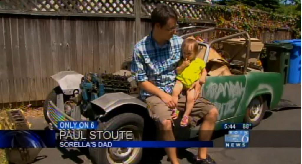 Toddler buys Austin-Healey Sprite on eBay