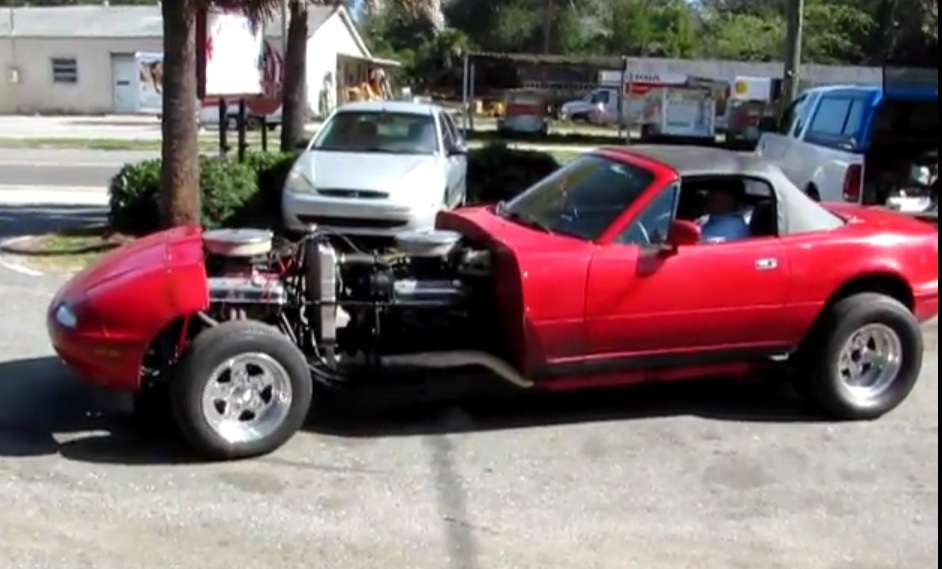 Twin Engine Miata Is 16 Cylinders Of Awesome Video