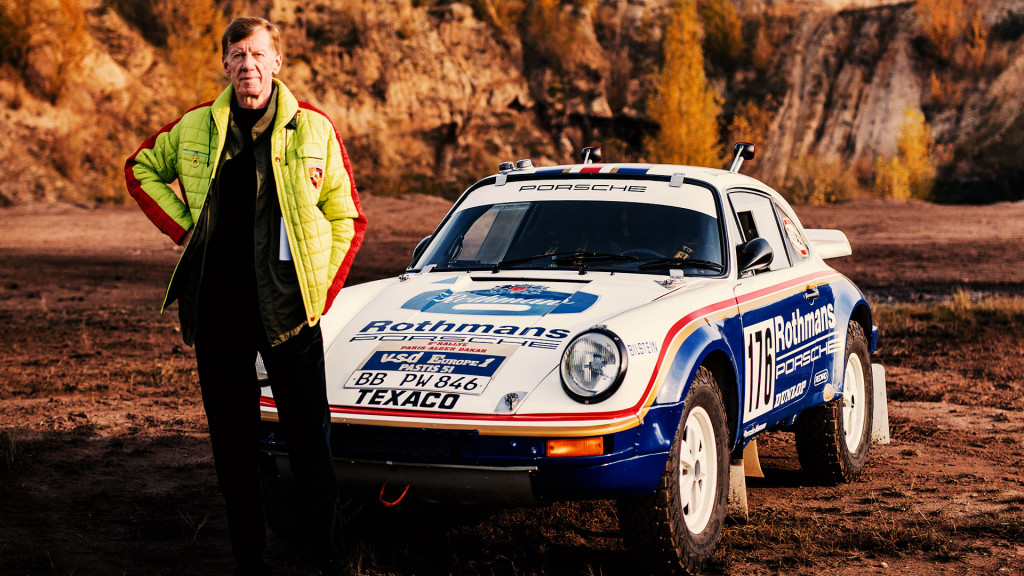 Walter Röhrl walks us through the top 5 Porsche rally cars of all time