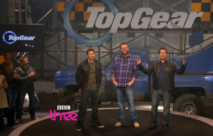 Top Gear USA, now on BBC 3