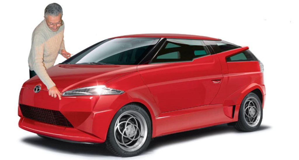 Top Secret Tata Composite Car Styled By Lamborghini Countach