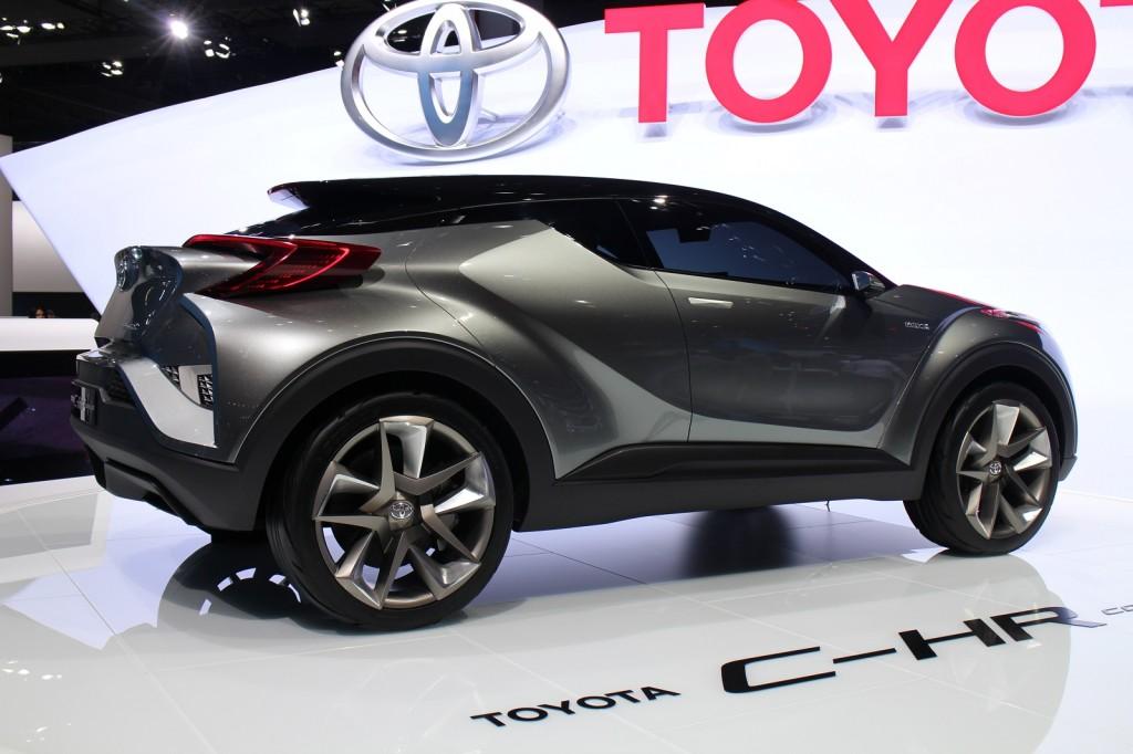 Toyota C Hr Concept 2nd Version 2017 Frankfurt Auto Show