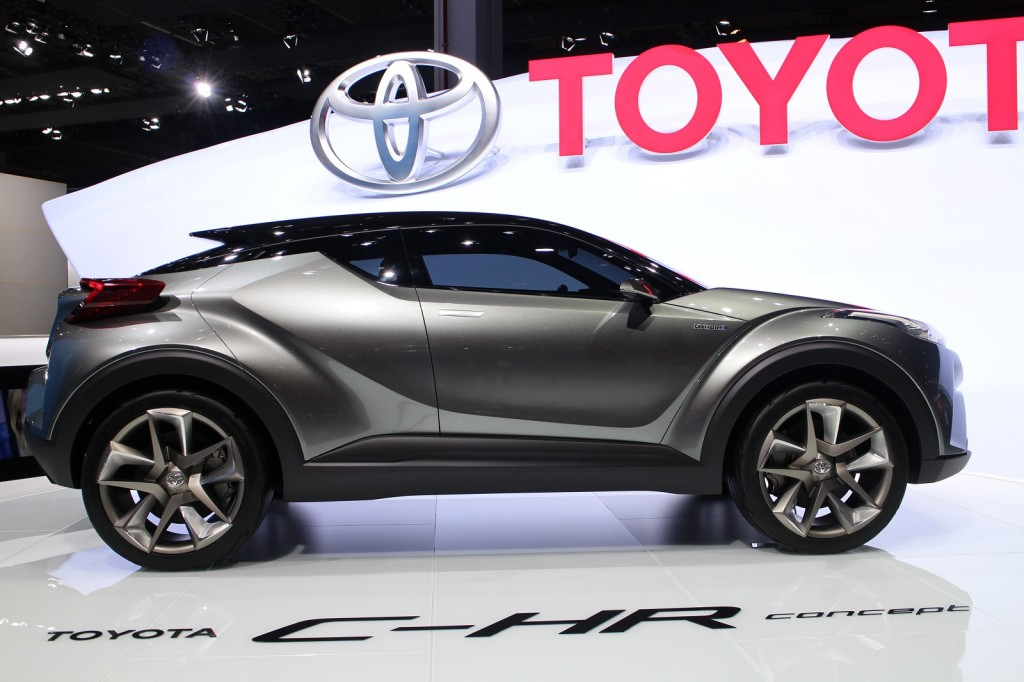 Toyota Trots Out Updated CHR Concept In Frankfurt Production - Toyota show car