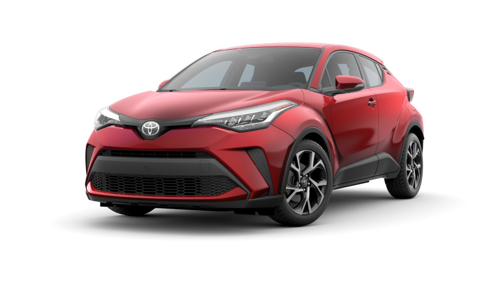 2020 Toyota C-HR gets sportier face and Android Auto