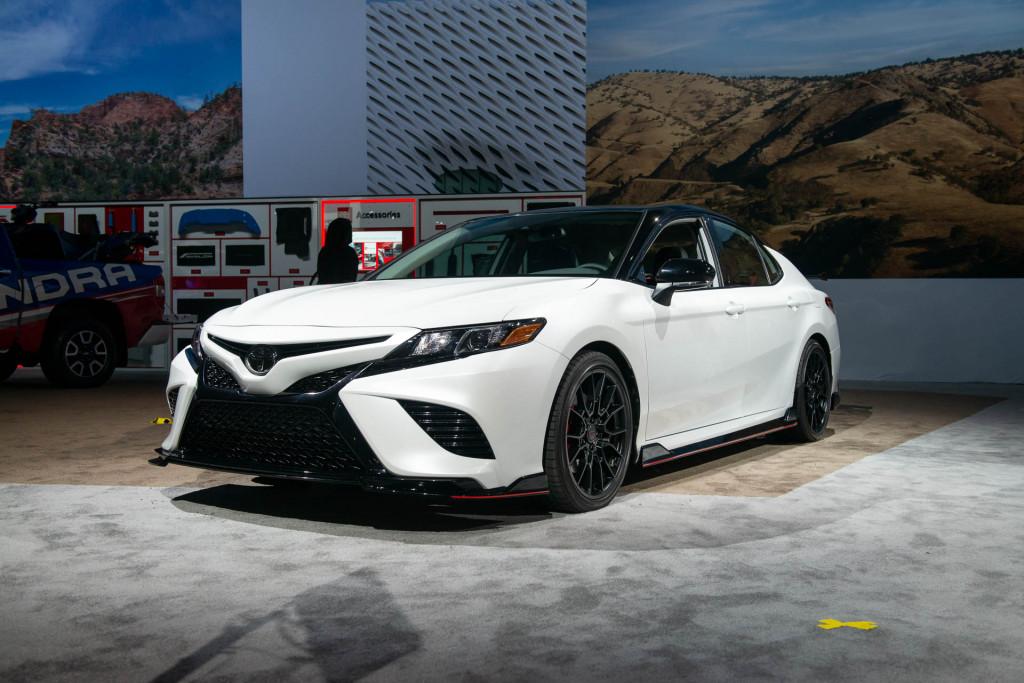 2020 Toyota Camry TRD, 2018 LA Auto Show