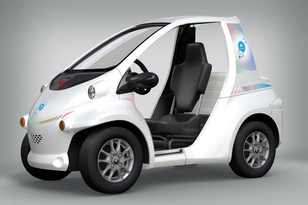 Image Toyota Coms Urban Electric Vehicle Size X Type