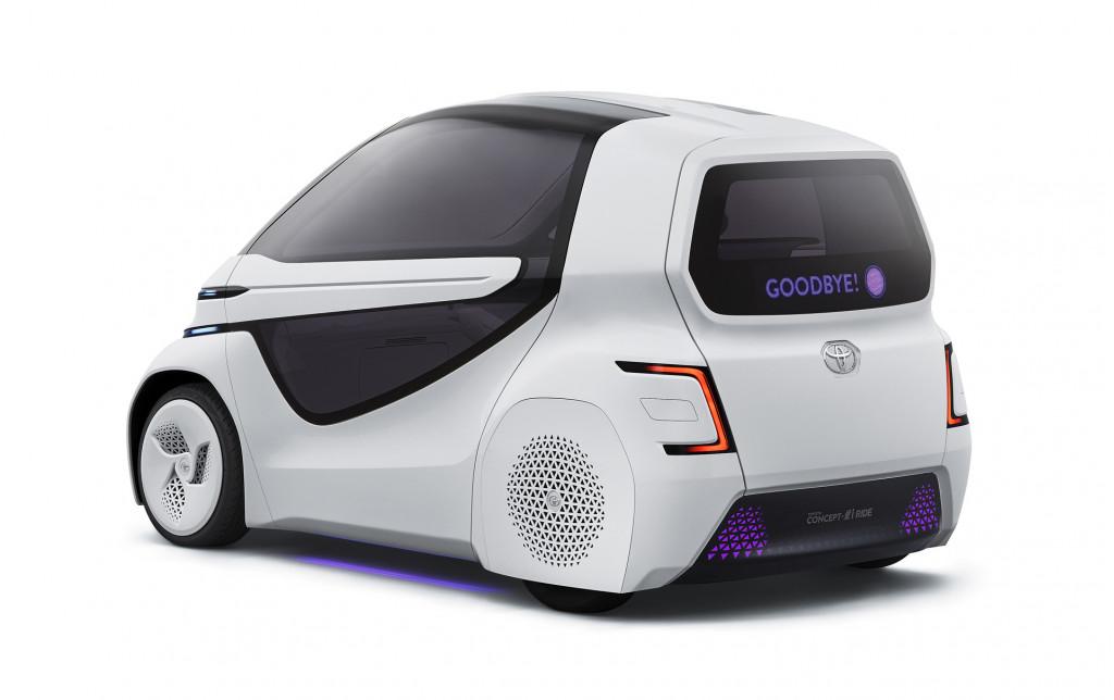 Toyota Concept-i Ride, 2017 Tokyo Motor Show