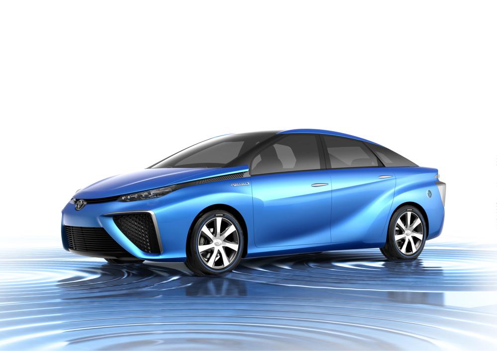 Toyota FCV concept, Tokyo Motor Show 2013
