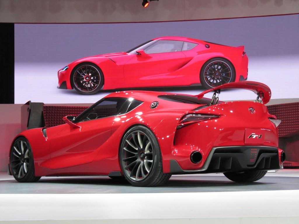 Toyota FT-1 Concept at 2014 Detroit Auto Show