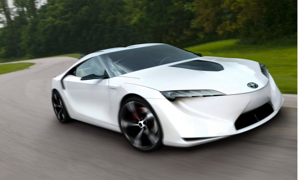 Toyota FT-HS concept from 2007
