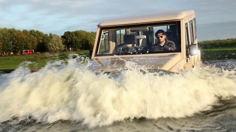 Dutch Amfibious Transport Amphicruiser