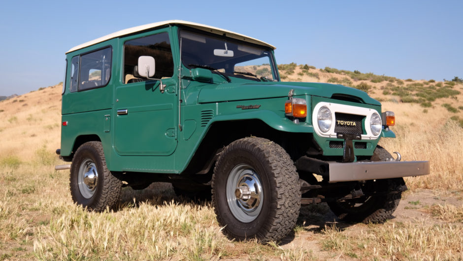 Toyota Fj40 For Sale >> 1978 Fj40 Toyota Land Cruiser With Just 5 000 Miles Up For Sale