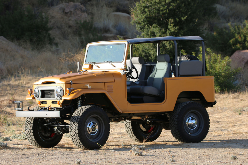 Icon's FJ40 Roadster is old-school cool, simplified and modernized