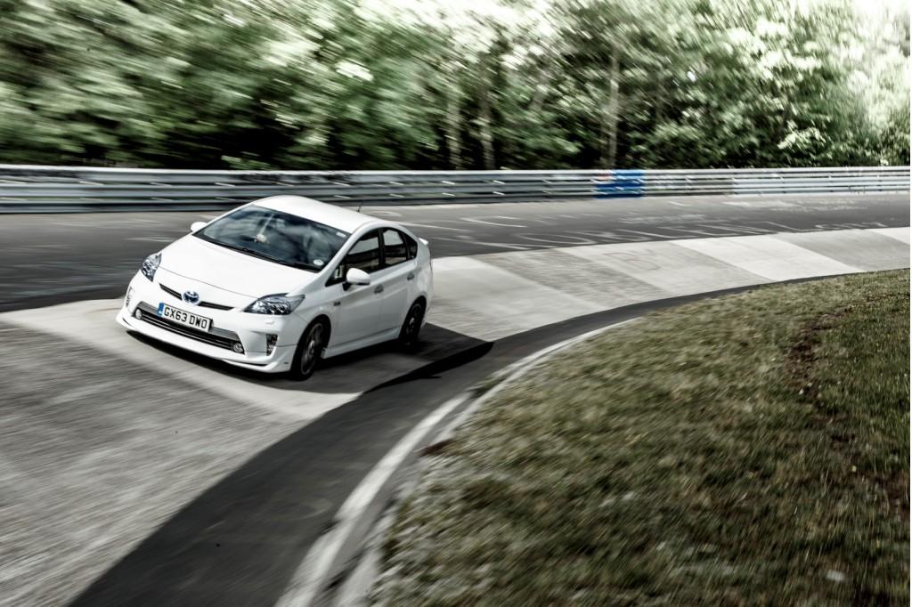 Toyota Prius Plug-In Hybrid on the Nurburgring