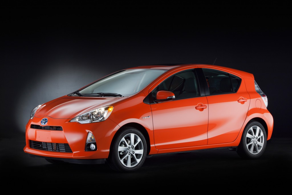 2012 Toyota Prius C, as shown at 2011 Tokyo Motor Show