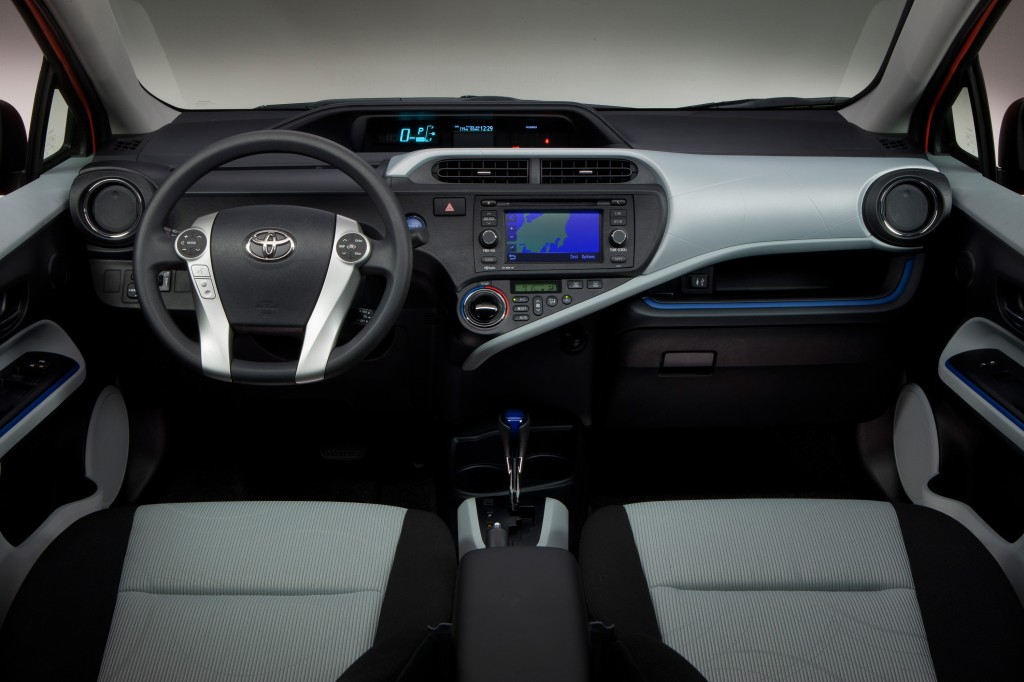 2012 Toyota Prius C, as shown at 2011 Tokyo Motor Show