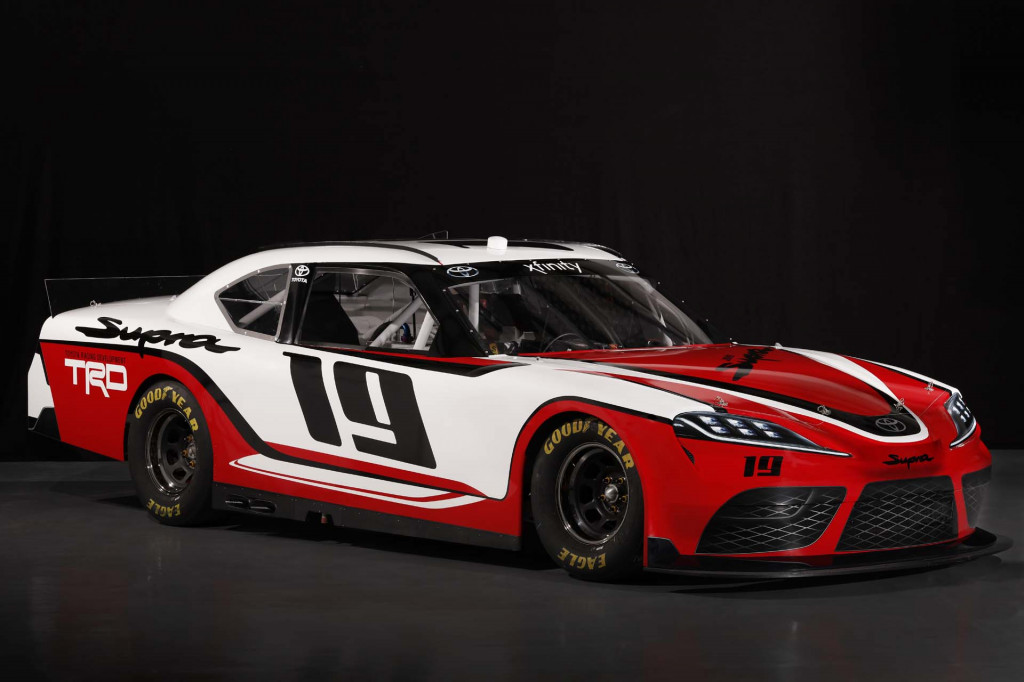 Here's the new Toyota Supra heading to NASCAR next year
