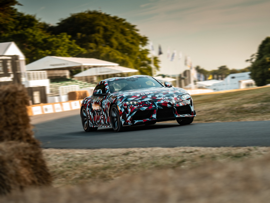 New Toyota Supra makes dynamic debut at Goodwood Festival of Speed